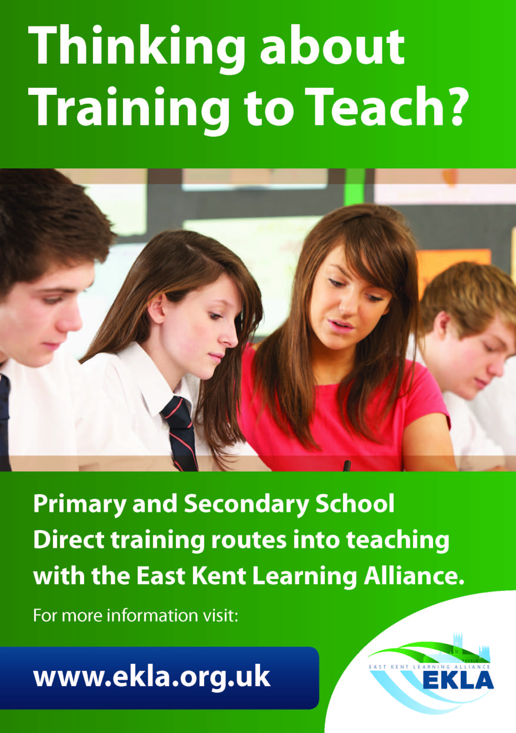 School Direct A5 Leaflet